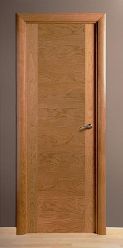 Puerta de madera montante hilo