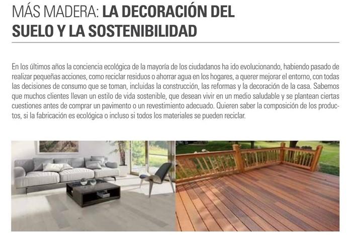 El diseño también debe ser sostenible | Artículo Más Madera