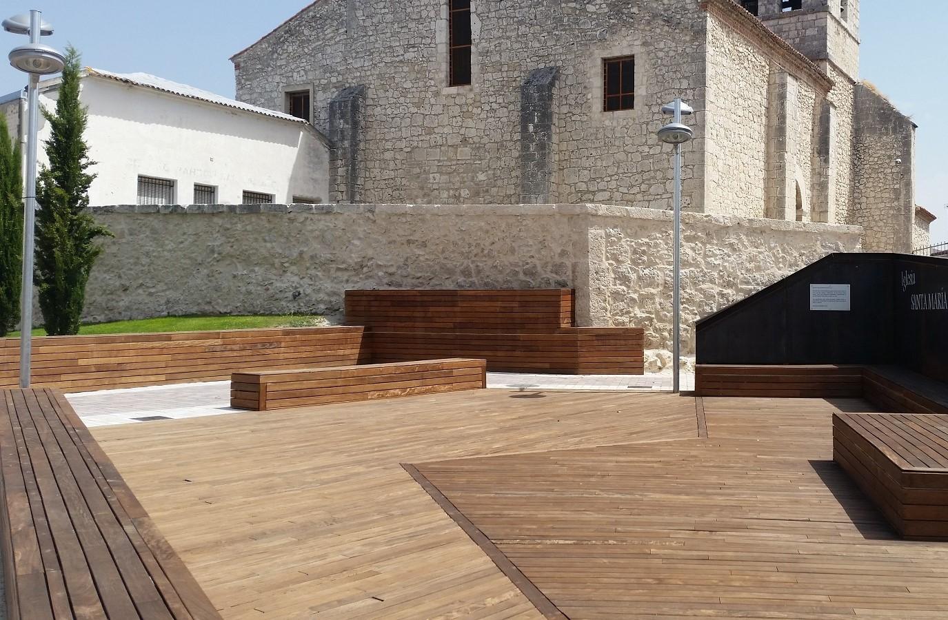 Proyectos Más Madera: Monumento Iglesia de Íscar en Valladolid