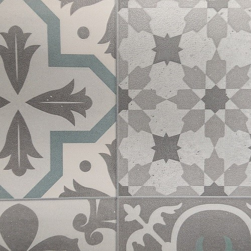Revestimiento suelo y pared apto para baños Sensa Ceramic modelo Volterra