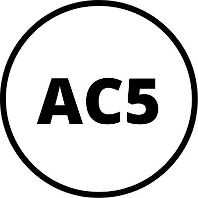 Todos los modelos tienen una resistencia AC5