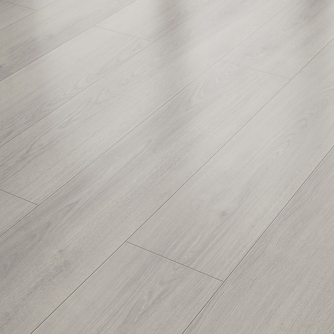 Suelo Laminado AC4 8 mm Solido Elite Roble Gris Claro