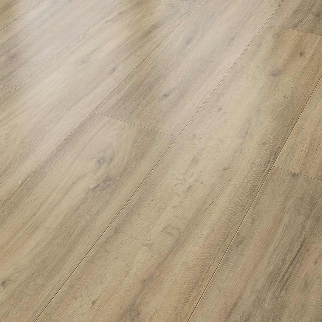 Suelo Laminado AC4 8 mm Solido Elite Roble Natural Oscuro
