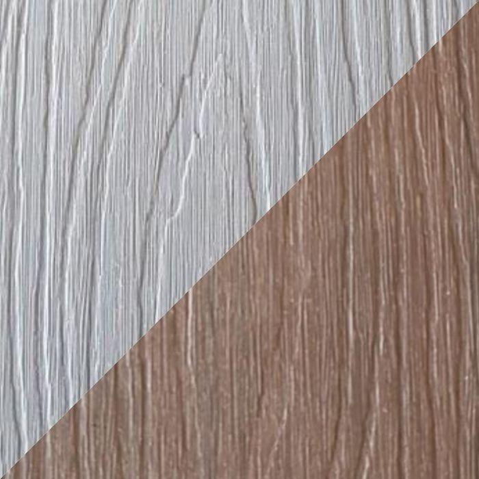 Tarima tecnológica encapsulada, color crema, antideslizante.