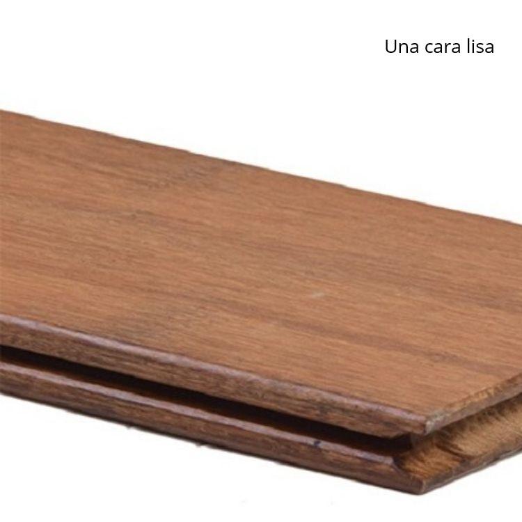 Detalle lama tarima de bambú
