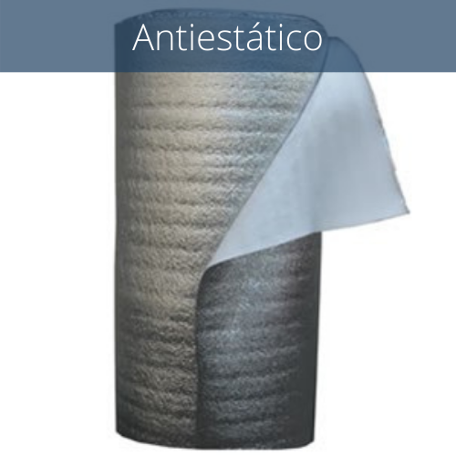 Aislante suelo laminado polietileno aluminizado 3 mm
