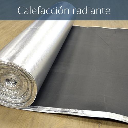 Aislante suelo laminado caucho + aluminio 2mm