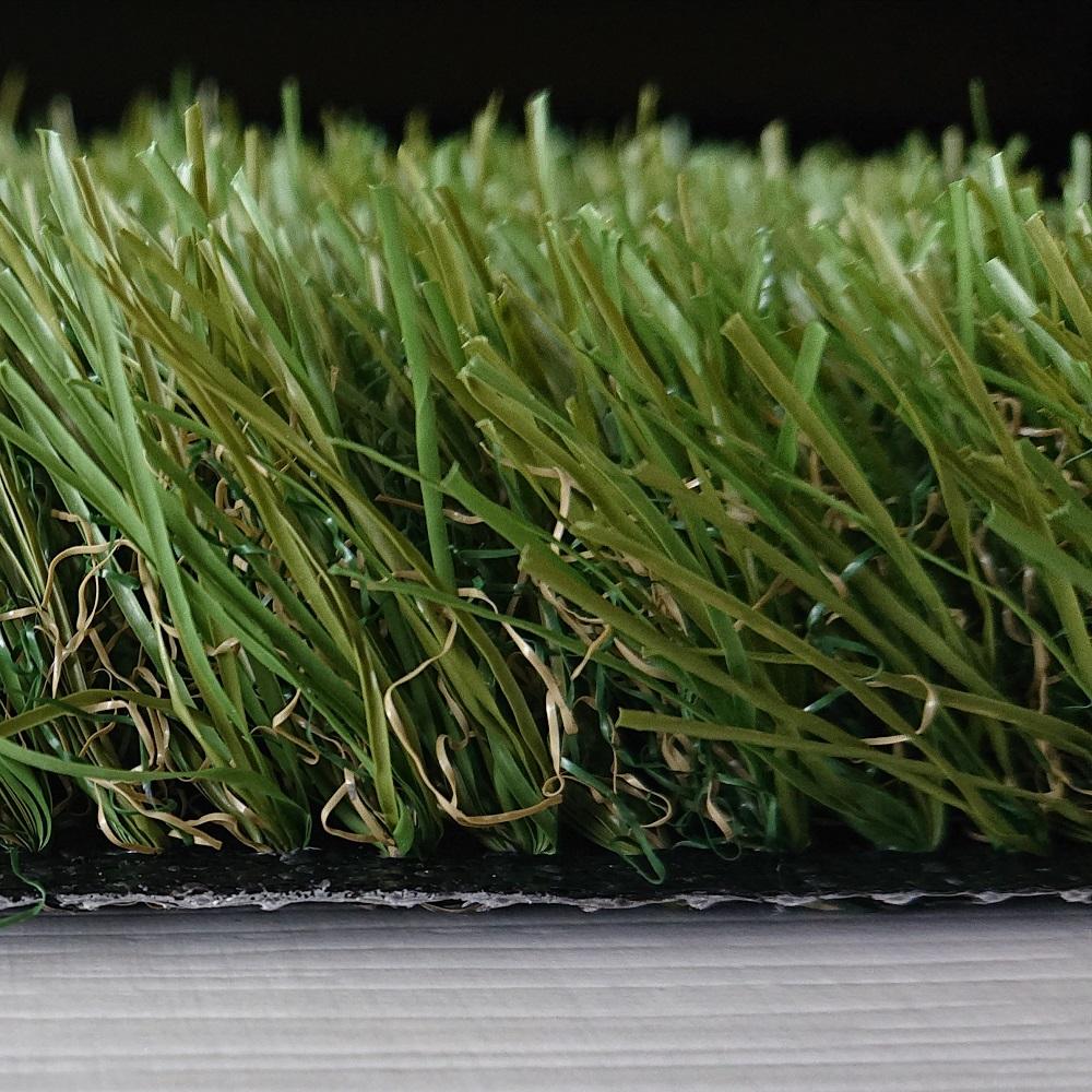 Detalle de césped artificial Green 40 mm