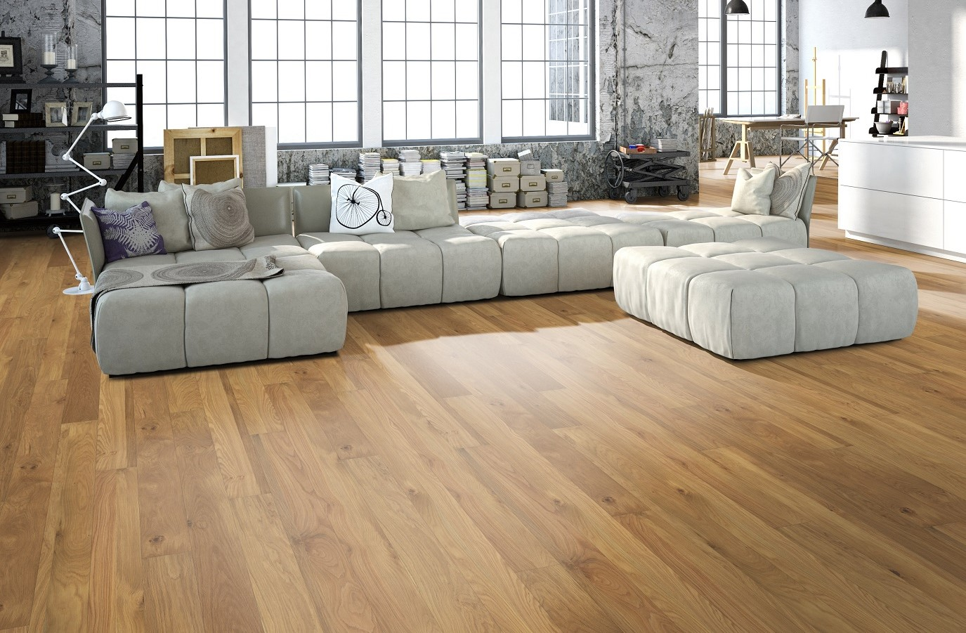 Parquet flotante Trend Real Wood